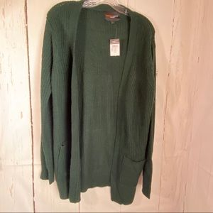 Rue21 Sweaters - Forest Green large open front pocket sweater